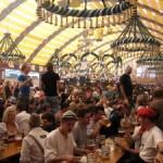 Un padiglione all'Oktoberfest di Monaco