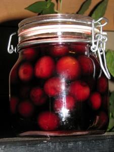 Le ciliegie sotto spirito