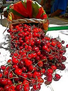 Le ciliegie sciroppate