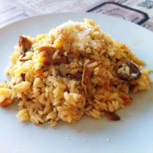 Risotto funghi e tartufo: la ricetta