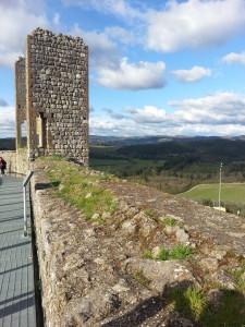 Le mura di Monteriggioni