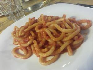 Pici all'Aglione - Osteria La Piana (Siena)